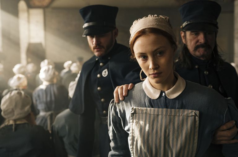 Powerful and subtle … Sarah Gadon in Alias Grace. Photograph: Sabrina Lantos/Netflix