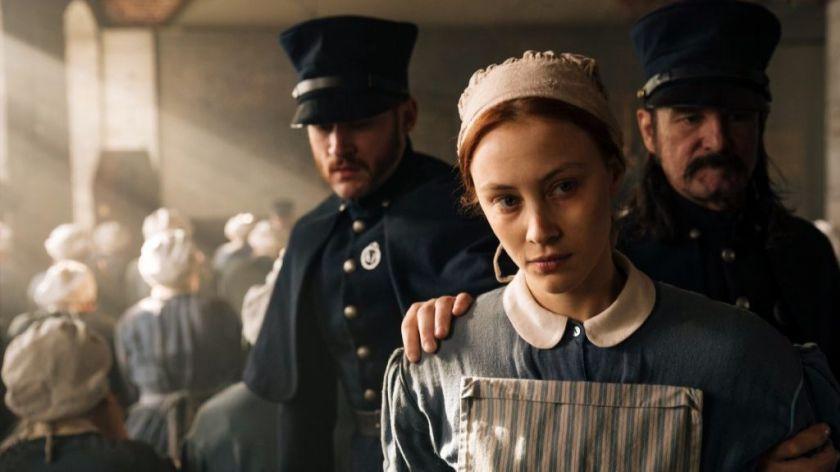 """Sarah Gadon in the Netflix original series """"Alias Grace."""" (Jan Thijs / Netflix )"""