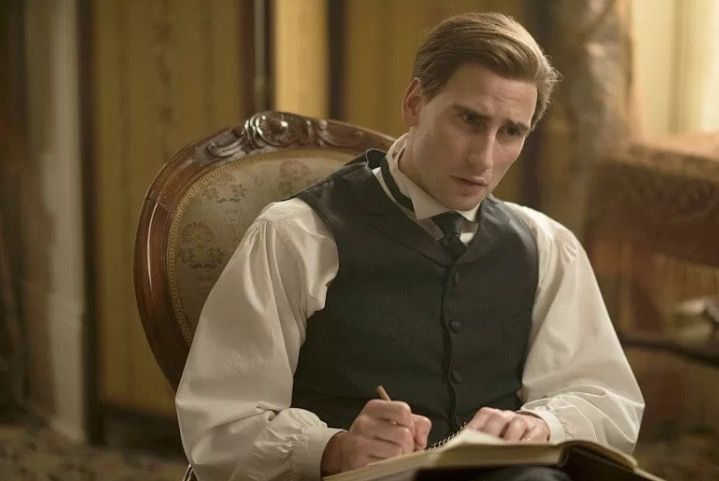 Edward Holcroft in Alias Grace NETFLIX